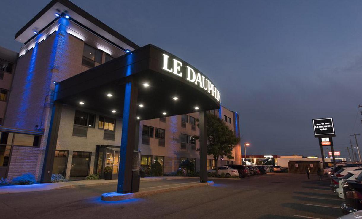 hotel dauphin qc